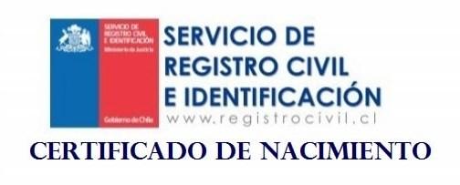 Certificado de Nacimiento chileno gratis