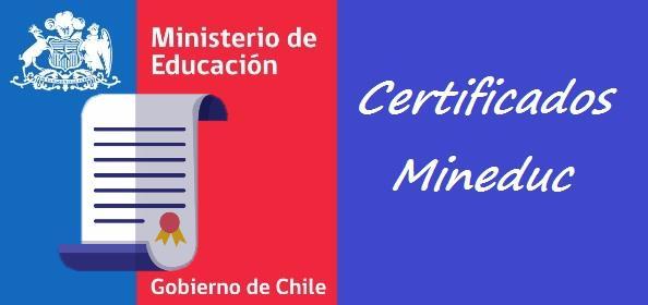 Todos los Certificados Mineduc