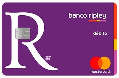 tarjeta del banco ripley